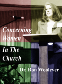 Concerning Women In The Church